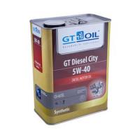 мотороное GT Oil Diesel City, синтетическое, всесезонное, универсальное, 5W-40, 4L