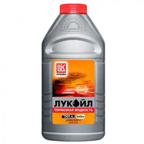 Тормозная жидкость LUKOIL DOT4 в пластиковой таре 0,45