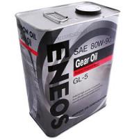 Масло трансмиссионное Eneos Gear Oil Gl-5 JP, 80W-90, минеральное, 4L