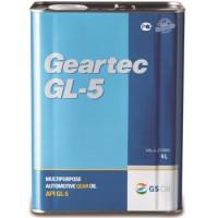 Масло трансмиссионное Kixx Geartec Gl-5 Semi-Synthetic (t) KR, 75W-90, полусинтетическое, 4L