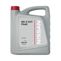 Жидкость трансмиссионная Nissan CVT Fluid Ns-3 Mineral EU, минеральное, 5L