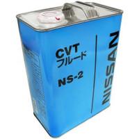 Жидкость трансмиссионная Nissan CVT Fluid Ns-2 Mineral JP, минеральное, 4L