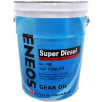 Масло трансмиссионное Eneos Gear Oil Gl-5 JP, 75W-90, минеральное, 20L