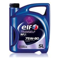 Масло трансмиссионное Elf Tranself NFJ, 75W-80, синтетическое, 5L