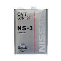 Жидкость трансмиссионная Nissan CVT Fluid Ns-3 Mineral JP, минеральное, 4L