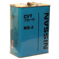 Масло трансмиссионное Nissan CVT NS-2, минеральное, 4L