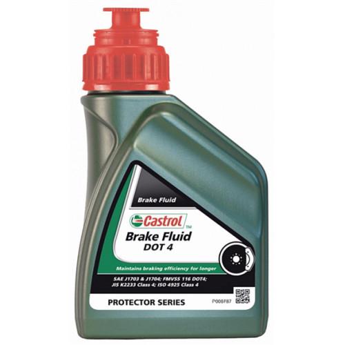 Жидкость тормозная CASTROL Brake Fluid DOT 4, 500 ML