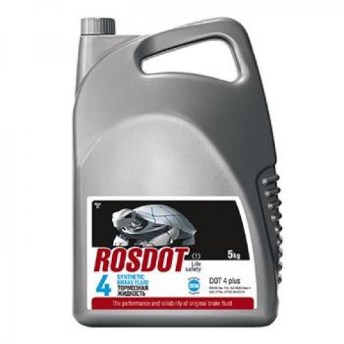 Тормозная жидкость ROSDOT 4 5кг, 430101h05