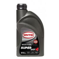 Тормозная жидкость SINTEC SUPER DOT-4 910гр