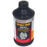 Жидкость тормозная BRAKE FLUID DOT-3 UAE 0,33L