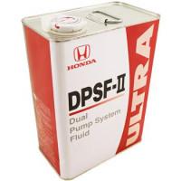 Масло трансмиссионное Honda Gear Oil Ultra Dpsf 4wd rear Diff, DPSF, синтетическое, 4L