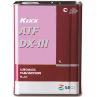 Жидкость Aкпп Kixx ATF Synthetic (t) KR, Dexron-III, синтетическое, 4L