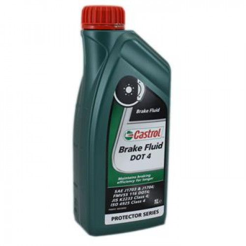 Жидкость тормозная Castrol Brake Fluid DOT 4, 1л