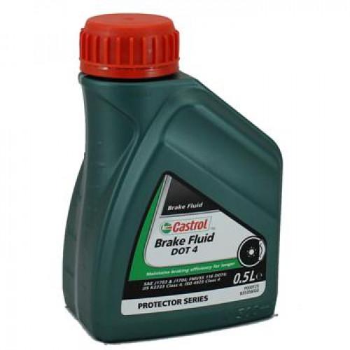 тормозная жидкость Castrol brake fluid dot 4, 10,5 л