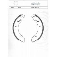 Колодки тормозные задние барабанные INTELLI DA443 к-т (ГАЗЕЛЬ ГАЗ 3302)